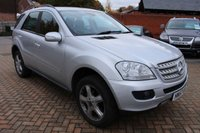 USED 2007 57 MERCEDES-BENZ M CLASS 3.0 ML280 CDI SPORT 5d 188 BHP