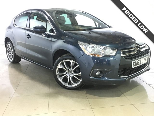 View our 2013 63 CITROEN DS4 1.6 E-HDI DSTYLE AIRDREAM 5d AUTO 115 BHP