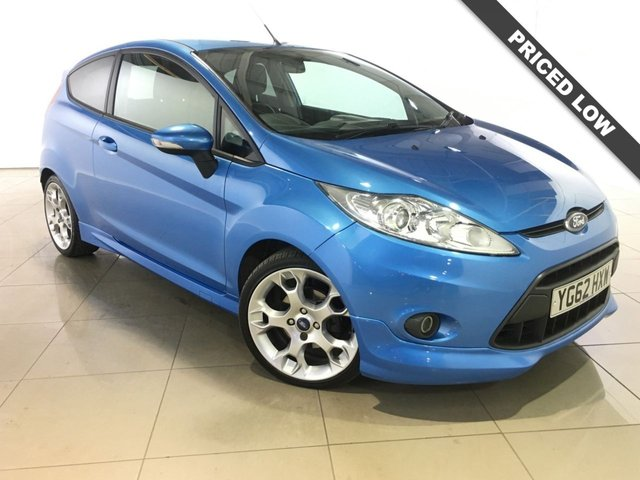 View our 2012 62 FORD FIESTA 1.6 ZETEC S 3d 118 BHP