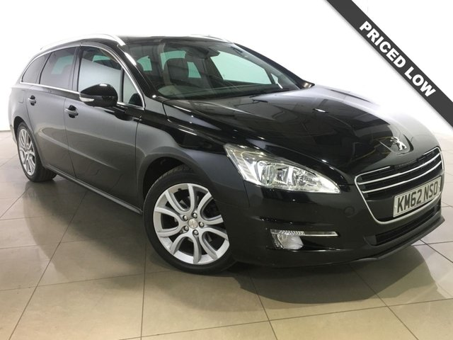 View our 2013 62 PEUGEOT 508 2.0 ALLURE SW HDI 5d AUTO 163 BHP
