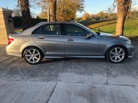 USED 2011 61 MERCEDES-BENZ C CLASS 2.1 C250 CDI BLUEEFFICIENCY SPORT ED125 4d AUTO 204 BHP