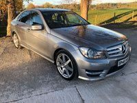 2011 MERCEDES-BENZ C CLASS 2.1 C250 CDI BLUEEFFICIENCY SPORT ED125 4d AUTO 204 BHP £8995.00