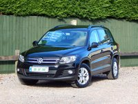 2012 VOLKSWAGEN TIGUAN 2.0 S TDI BLUEMOTION TECHNOLOGY 4MOTION DSG 5d AUTO 138 BHP £8670.00