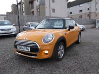 USED 2014 64 MINI HATCH ONE 1.5 ONE D 3d 94 BHP JUST SERVICED BY MINI, 1 LADY OWNER