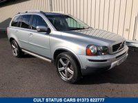 USED 2008 57 VOLVO XC90 2.4 D5 SE SPORT AWD AUTO 185 BHP 4X4 ESTATE JUST 68K MILES, FULL HISTORY, TOW BAR