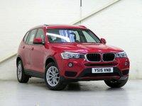 2015 BMW X3 2.0 XDRIVE20D SE 5d AUTO 188 BHP [£4.9K OPTIONS] £21278.00