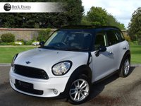 USED 2016 66 MINI COUNTRYMAN 2.0 COOPER D BUSINESS 5d AUTO 110 BHP FULL LEATHER SAT NAV