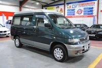 2003 MAZDA BONGO 2.5 B2500 4d AUTO 116 BHP £1985.00