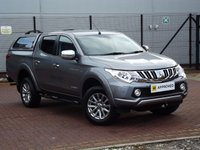 USED 2016 65 MITSUBISHI L200 2.4 DI-D WARRIOR AUTOMATIC HARDTOP CANOPY SAT NAV SAT NAV LEATHER REVERSE CAM CANOPY CRUISE AIR CON