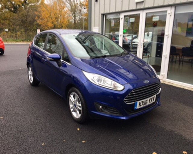 2016 16 FORD FIESTA 1.0 ZETEC ECOBOOST AUTOMATIC (100ps)