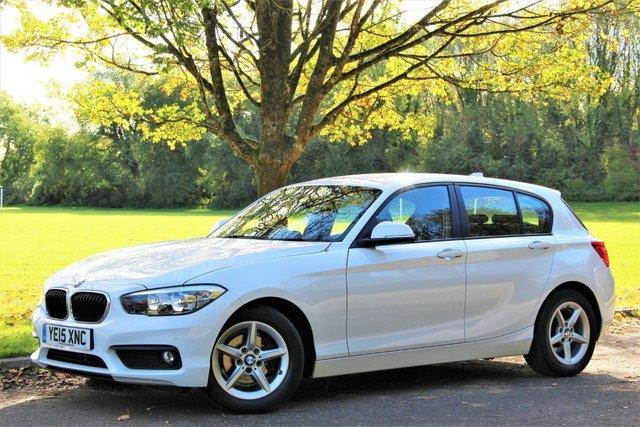 2015 15 BMW 1 SERIES 1.5 116D ED PLUS 5d 114 BHP