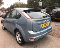 USED 2008 08 FORD FOCUS 1.6 ZETEC 5d 100 BHP