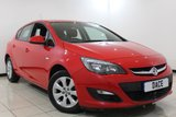 USED 2014 14 VAUXHALL ASTRA 1.6 DESIGN 5DR AUTOMATIC 115 BHP SERVICE HISTORY + LOW MILEAGE + PARKING SENSOR + CRUISE CONTROL + MULTI FUNCTION WHEEL + AIR CONDITIONING + RADIO/CD/AUX/USB + 16 INCH ALLOY WHEELS