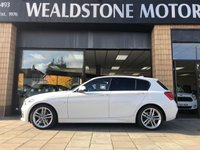 2016 BMW 1 SERIES 2.0 120D M SPORT 5d AUTO 188 BHP £18495.00