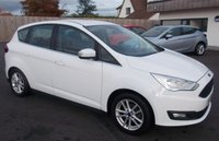 2015 FORD C-MAX 1.5 ZETEC TDCI 5d 118 BHP £20.00 PER YEAR ROAD TAX £8750.00