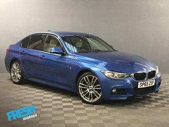 2015 BMW 3 SERIES 2.0 320D M SPORT  £18500.00