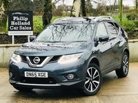 USED 2015 65 NISSAN X-TRAIL 1.6 DCI N-TEC 5d 130 BHP 7 Seats Front / Rear parking sensors, Rear parking camera, Sat Nav, Panoramic roof