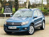USED 2015 VOLKSWAGEN TIGUAN 2.0 MATCH TDI BLUEMOTION TECHNOLOGY 5d 139 BHP Front / Rear parking sensors, Park assist, Bluetooth, DAB
