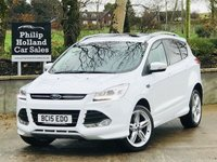 USED 2015 15 FORD KUGA 2.0 TITANIUM X SPORT TDCI 5d AUTO 177 BHP AWD Rear camera, Panoramic roof, Full leather, Heated seats