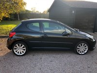 USED 2007 57 PEUGEOT 207 1.6 GT HDI 3d 108 BHP Panoramic Roof..FSH 2 keys.