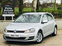 2014 VOLKSWAGEN GOLF 1.6 BLUEMOTION TDI 5d 108 BHP £9495.00