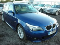 2009 BMW 5 SERIES 2.0 520D M SPORT TOURING 5d AUTO 175 BHP £SOLD