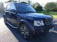USED 2015 15 LAND ROVER DISCOVERY COMMERCIAL 4 SE AUTO 3.0 SD V6 255 BHP Direct From Leasing Company With FSH, Many Additional Extras Inc Upgrade Alloys & Factory Fitted Rear Seat