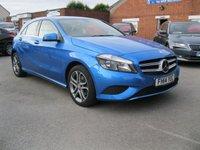 2014 MERCEDES-BENZ A CLASS 1.6 A180 BLUEEFFICIENCY SPORT 5d AUTO 122 BHP  £13500.00