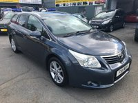 USED 2011 11 TOYOTA AVENSIS 2.0 T4 D-4D 5d 125 BHP IN METTALIC GREY WITH FULL BLACK LEATHER AND SAT NAV AND 145000 MILES. TRADE CLEARENCE  APPROVED CARS ARE PLEASED TO OFFER THIS TOYOTA AVENSIS 2.0 T4 D-4D 5d 125 BHP IN METALLIC GREY WITH FULL BLACK LEATHER INTERIOR AND A GREAT SPEC INCLUDING SAT NAV,ALLOYS AND MUCH MORE WITH 145000 MILES IN IMMACULATE CONDITION INSIDE AND OUT WITH A FULL SERVICE HISTORY WITH ALL THE BILLS,THE ONLY REASON WE ARE OFFERING THIS AS A TRADE CLEARANCE IS DUE TO THE MILEAGE THIS IS AN EXTREMELY WELL LOOKED AFTER AVENSIS ONE NOT TO BE MISSED.