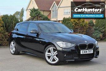 2014 BMW 1 SERIES 2.0 116D M SPORT 5d 114 BHP £10495.00