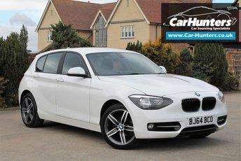 2014 BMW 1 SERIES 1.6 116I SPORT 5d 135 BHP £10695.00