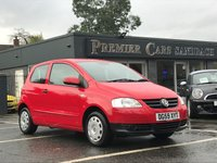 USED 2009 59 VOLKSWAGEN FOX 1.2 6V 3d 55 BHP