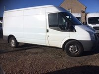 USED 2010 60 FORD TRANSIT 350 LWB 2.4 BHP 115