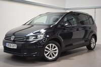 USED 2016 16 VOLKSWAGEN TOURAN 2.0 SE TDI BLUEMOTION TECHNOLOGY DSG 5d AUTO 148 BHP