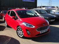 USED 2018 67 FORD FIESTA 1.0 ZETEC 3d 99 BHP ANY PART EXCHANGE WELCOME, FREE COUNTRY WIDE DELIVERY ARRANGED