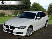 USED 2012 62 BMW 3 SERIES 2.0 320D LUXURY 4d AUTO 184 BHP FULL LEATHER SAT NAV