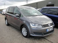USED 2017 67 VOLKSWAGEN SHARAN 2.0 SE TDI BLUEMOTION TECHNOLOGY DSG 5d AUTO 148 BHP ANY PART EXCHANGE WELCOME, COUNTRY WIDE DELIVERY ARRANGED, HUGE SPEC