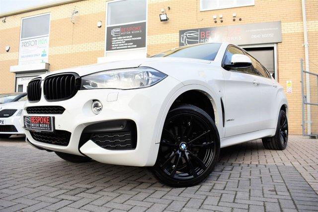 2016 16 BMW X6 XDRIVE30D M SPORT AUTOMATIC