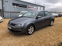 2014 VOLKSWAGEN JETTA 1.6 SE TDI BLUEMOTION TECHNOLOGY 4d 104 BHP £7490.00