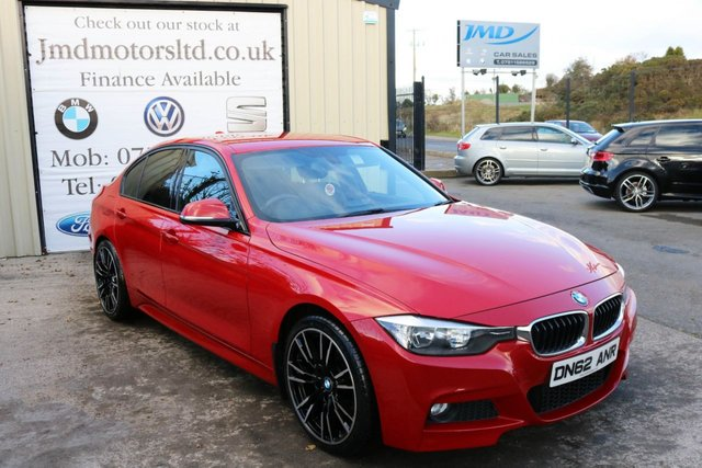 2012 62 BMW 3 SERIES 320D M SPORT AUTO Business media 181 BHP