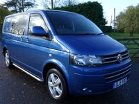 USED 2015 15 VOLKSWAGEN TRANSPORTER T32 SWB KOMBI HIGHLINE 2.0 TDI 140 BHP Stunning Looking Kombi In Popular Olympian Blue Metallic Direct From Premier Leasing Company With Full Service History **Many Additional Extras**