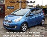2011 KIA VENGA 1.6 3 5d AUTO 123 BHP £6795.00