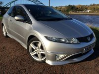 2009 HONDA CIVIC 1.8 I-VTEC TYPE S I-SHIFT 3d AUTO 138 BHP £5995.00