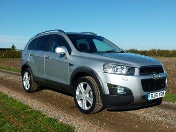 2011 CHEVROLET CAPTIVA 2.2 LTZ VCDI 5d AUTO 184 BHP 7 Seats £8995.00