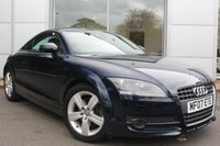 USED 2007 07 AUDI TT 2.0 TFSI 3d AUTO 200 BHP LOW MILEAGE. FULL SERVICE RECORD. CAMBELT DONE