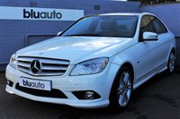 USED 2010 10 MERCEDES-BENZ C CLASS 1.8 C180 CGI BLUEEFFICIENCY SPORT 4d 156 BHP Panoramic Roof, Front & Rear Parking Sensors, Part Leather Heated Seats, Cruise and Climate Control, 6 Mercedes Services