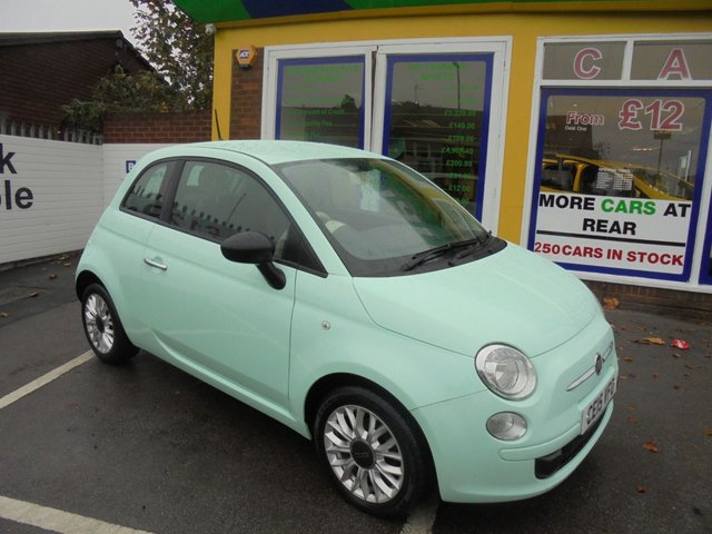 USED 2015 15 FIAT 500 1.2 POP 3d 69 BHP JUST ARRIVED NO DEPOSIT FINANCE
