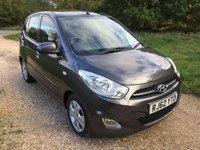 USED 2012 62 HYUNDAI I10 1.2 ACTIVE 5d 85 BHP Low Tax, Low Insurance, A/C
