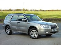 USED 2006 55 SUBARU FORESTER 2.0 X 5d 158 BHP FULL SERVICE HISTORY, ONLY 2 PREVIOUS OWNERS
