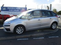 USED 2009 59 CITROEN C4 PICASSO 1.6 VTR PLUS 16V 5d 120 BHP Service History .New MOT & Full Service Done on purchase + 2 Years FREE Mot & Service Included After . 3 Months Russell Ham Quality Warranty . All Car's Are HPI Clear . Finance Arranged - Credit Card's Accepted . for more cars www.russellham.co.uk  - Owners Book Pack